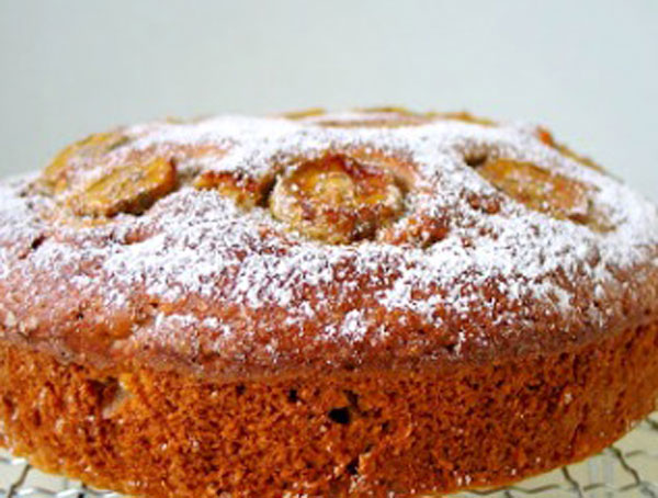 Быстрый пирог с бананами рецепт с фото